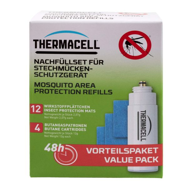 1 x Thermacell Lampe MR-9L + Nachfüllpackung R-4